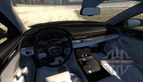 Audi A8L pour BeamNG Drive