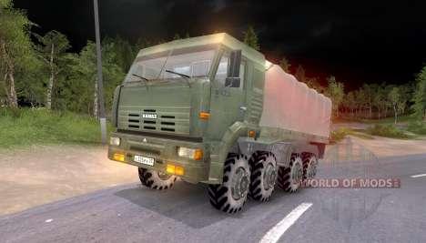 Pak und KrAZ LKW für Spin Tires