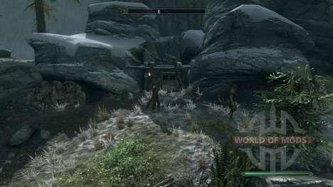 Reversusque mine pour Skyrim deuxième écran