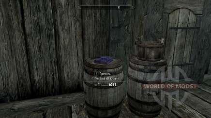 Buch Pumpen Bogenschießen für Skyrim