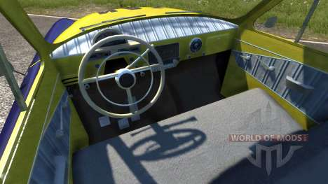 GAZ-21 Volga GAI pour BeamNG Drive