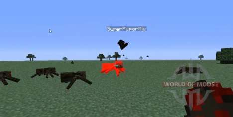 Apprivoisé chauve-souris pour Minecraft