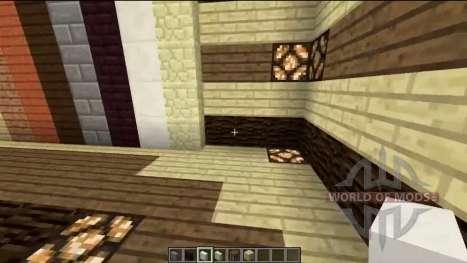 Verticale de la plate-forme pour Minecraft