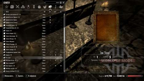Appel Tsuna pour Skyrim deuxième écran