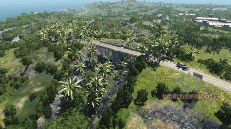 Emplacement Sec rock island- pour BeamNG Drive