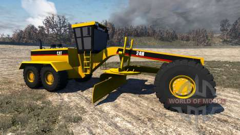Caterpillar 24H Grader pour BeamNG Drive