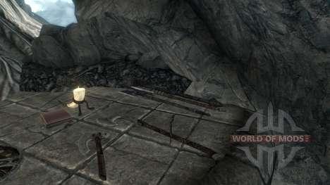 Pas d'artefacts enchantés pour Skyrim