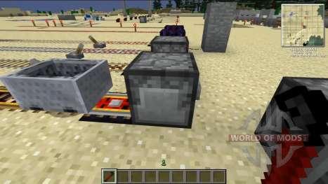 Recycling-Kraftpapier-Schienen für Minecraft