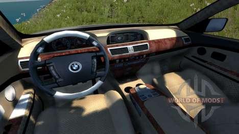 BMW 760Li (E66) v1.1 für BeamNG Drive