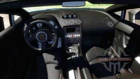 Lamborghini Gallardo LP570-4 Spyder Performante pour BeamNG Drive