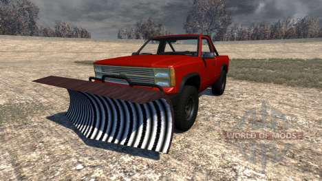 Gavril D-Series Snow Plow pour BeamNG Drive
