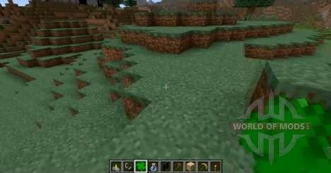Die glücklichen four leaf clover für Minecraft