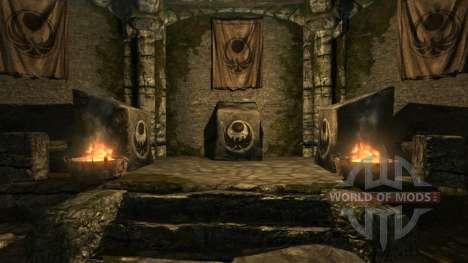 Appel Galla pour Skyrim cinquième écran