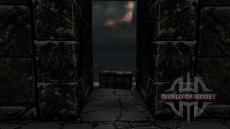 L'ensemble d'armure duvakina pour Skyrim deuxième écran