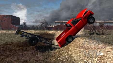 Gavril D-Series Trailer für BeamNG Drive