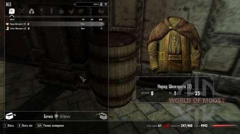 Outfit Von Sheogorath für Skyrim zweiten Screenshot