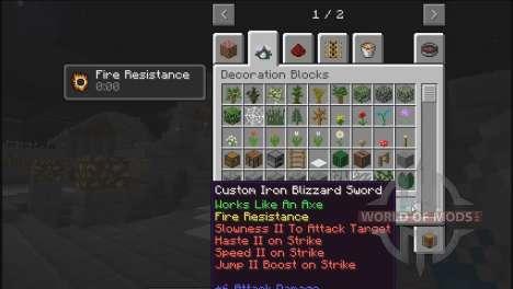 Créez votre épée pour Minecraft
