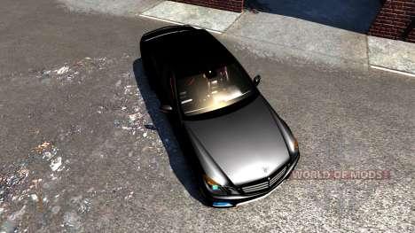 Mercedes-Benz E63 AMG 2014 pour BeamNG Drive