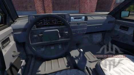 La VAZ-2109 à Samara pour BeamNG Drive