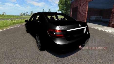 Mercedes-Benz E63 AMG 2014 für BeamNG Drive