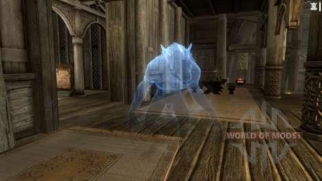 Appel multiplex et un loup-garou pour le quatrième Skyrim écran