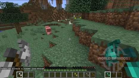 Neue combat system für Minecraft