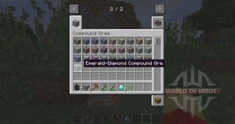 Double veines de minerai pour Minecraft