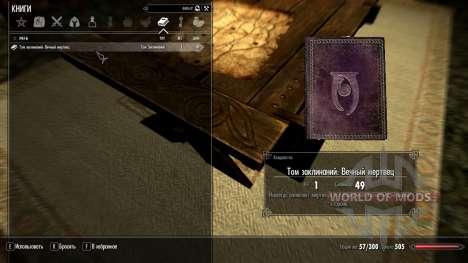 Ewig tot für Skyrim zweiten Screenshot
