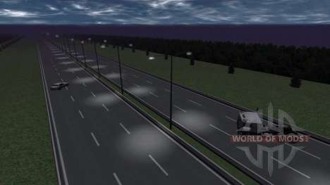 Lage-Highway- für BeamNG Drive