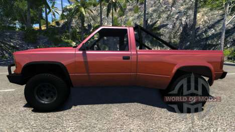 Gavril D-Series Dually 2 pour BeamNG Drive