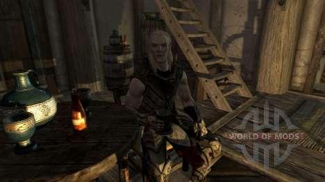 Satellite de Neige elf pour Skyrim
