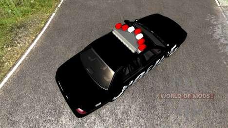 Ford Crown Victoria Police Interceptor für BeamNG Drive