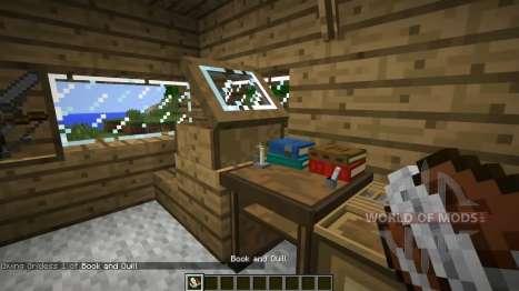 Neue Bücherregale für Minecraft