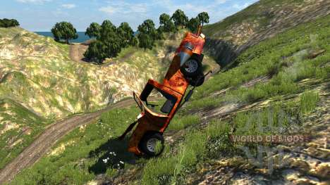 Gavril D-Series Hell für BeamNG Drive