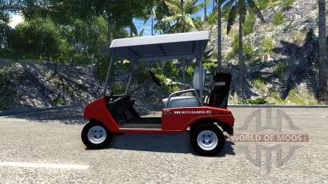 Golf cart für BeamNG Drive