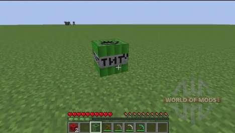 Puissant de la dynamite pour Minecraft