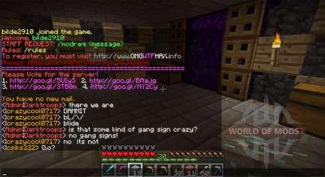 Enregistrer automatiquement des log de chat pour Minecraft