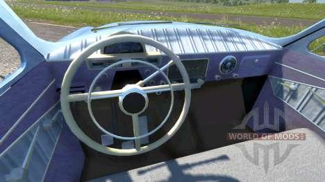 GAZ-21 Volga eaux de ruissellement pour BeamNG Drive