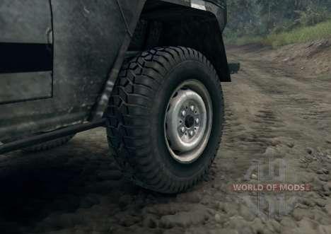 Mercedes-Benz 250GD Wolf für Spin Tires