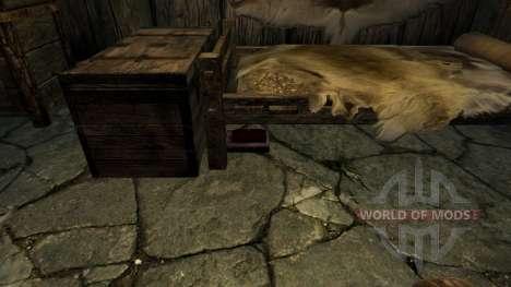 Le secret du nécromancien pour le quatrième Skyrim écran