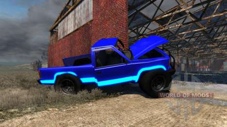 Gavril D-Series Neon Monster für BeamNG Drive