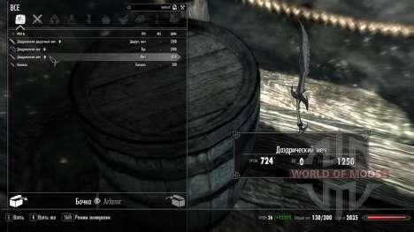Waffen mit einer enormen Schaden für das vierte Skyrim-Screenshot