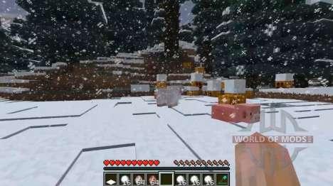 La neige profonde pour Minecraft