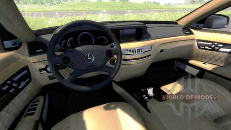 Mercedes-Benz S65 AMG 2012 für BeamNG Drive