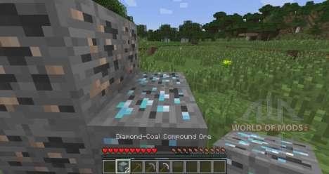 Dual erzadern für Minecraft