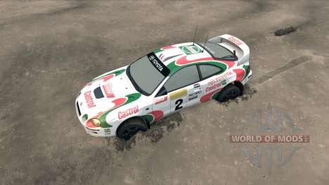 Toyota Celica GT Four ST205 Rally für Spin Tires