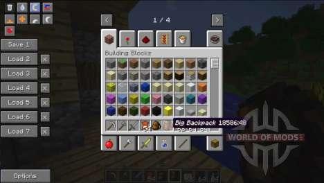 In geräumigen Rucksäcke für Minecraft