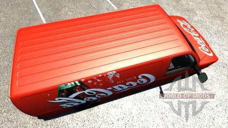 Gavril H-Series Coca-Cola für BeamNG Drive