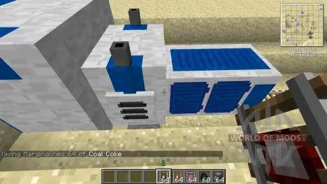 Recyclé Kraft rails pour Minecraft
