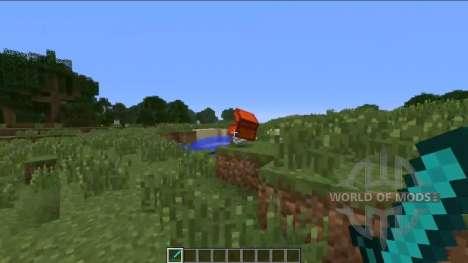 Mystérieux poitrine pour Minecraft